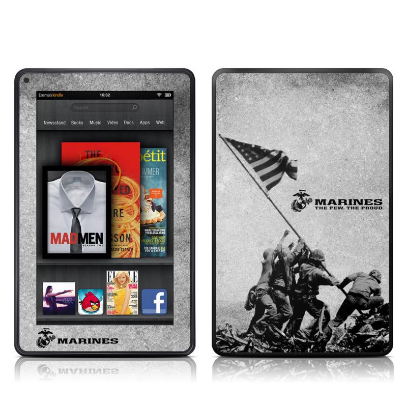 Flag Raise Amazon Kindle Fire Skin