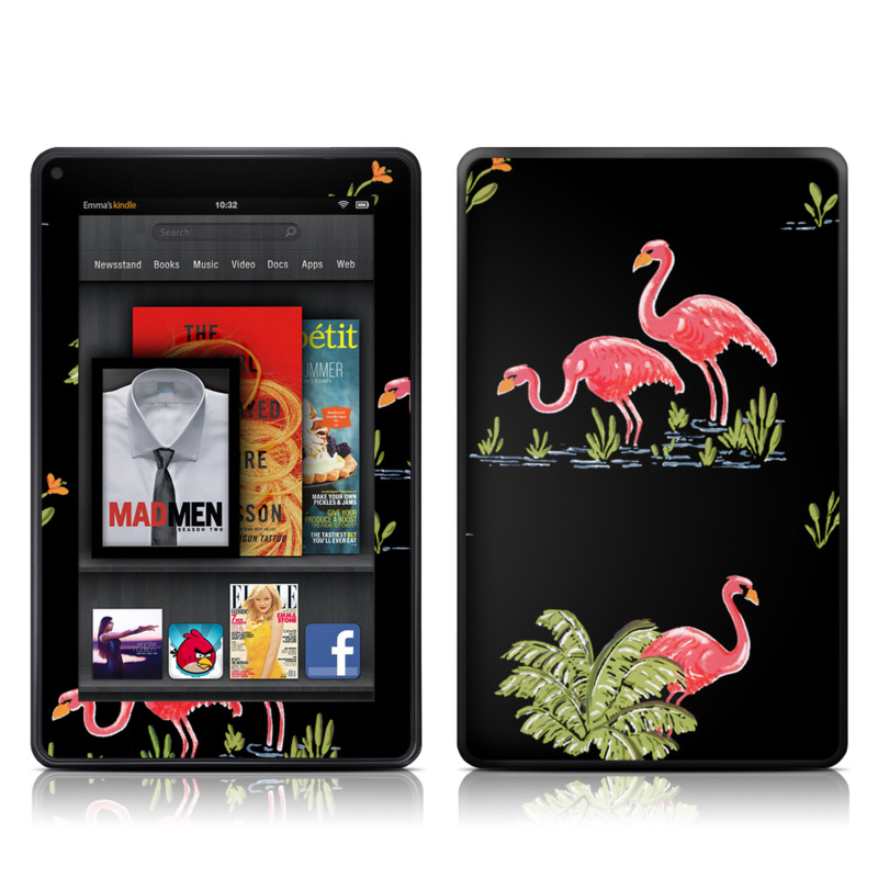 Flamingos Amazon Kindle Fire Skin