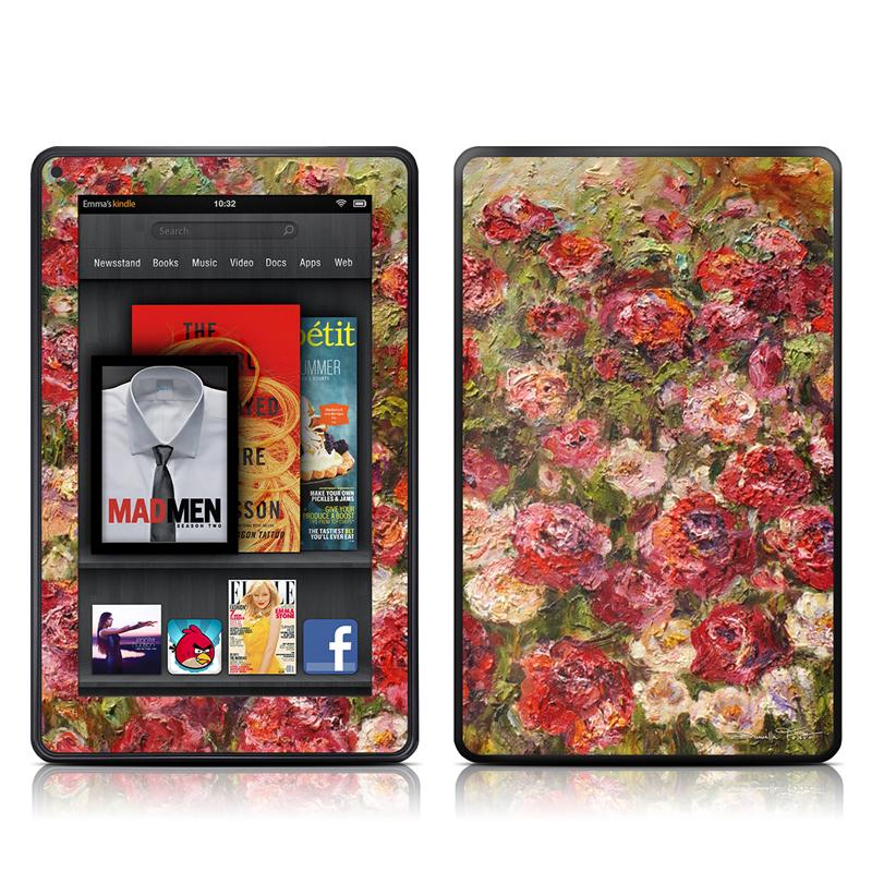Fleurs Sauvages Amazon Kindle Fire Skin