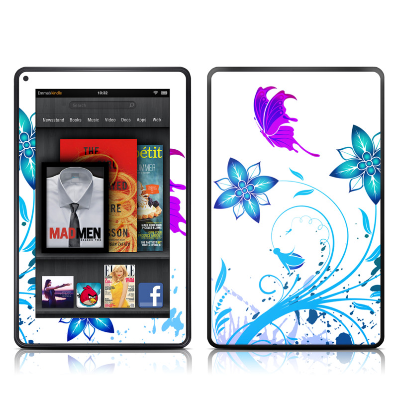 Flutter Amazon Kindle Fire Skin