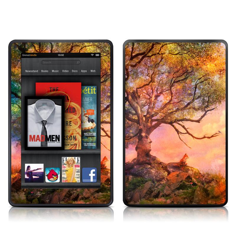 Fox Sunset Amazon Kindle Fire Skin