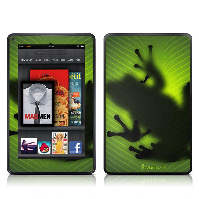 Frog Amazon Kindle Fire Skin