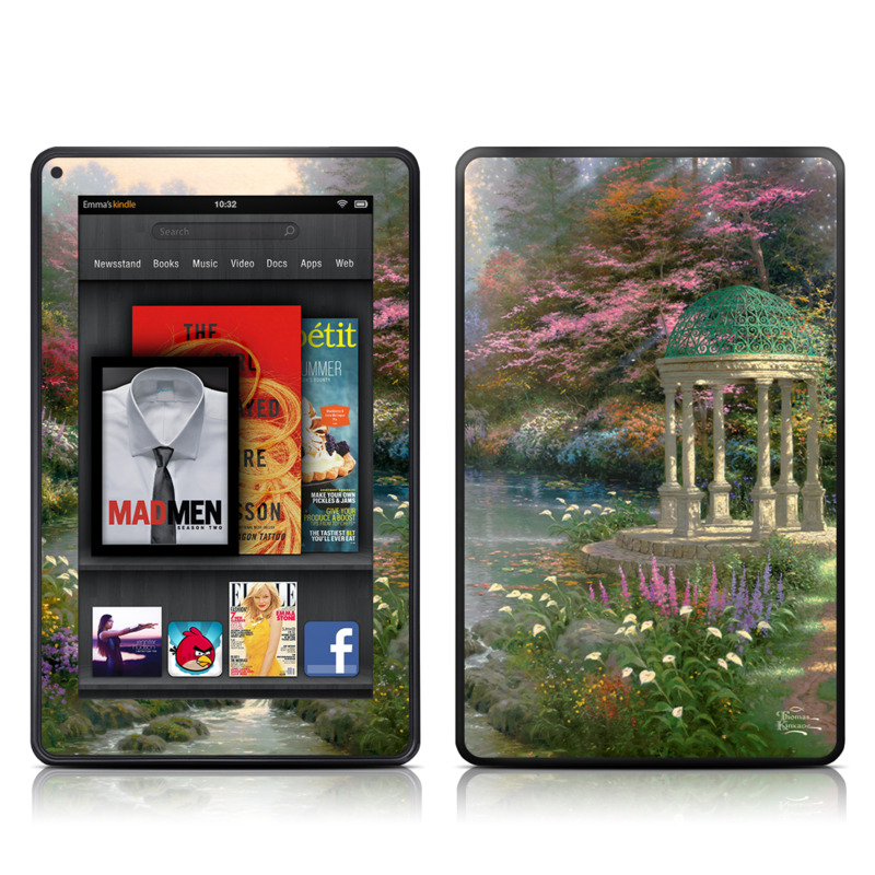 Garden Of Prayer Amazon Kindle Fire Skin
