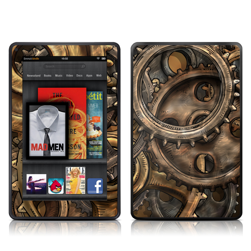 Gears Amazon Kindle Fire Skin