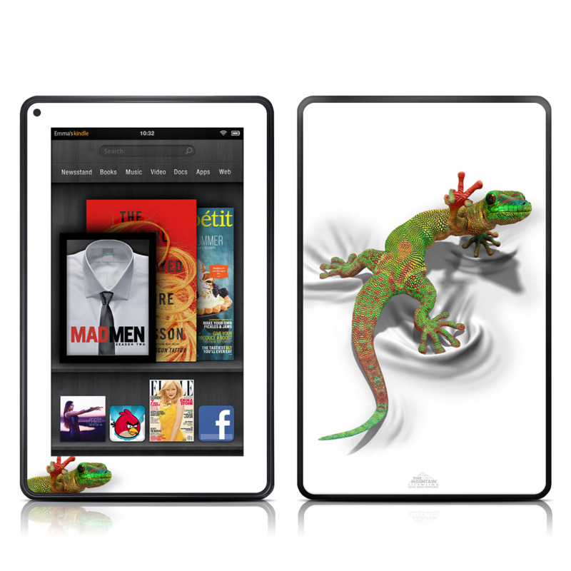 Gecko Amazon Kindle Fire Skin