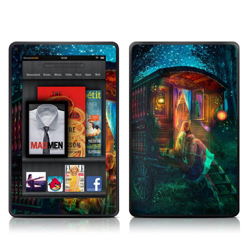 Gypsy Firefly Amazon Kindle Fire Skin