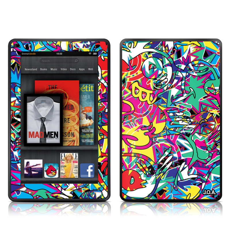 Graf Amazon Kindle Fire Skin