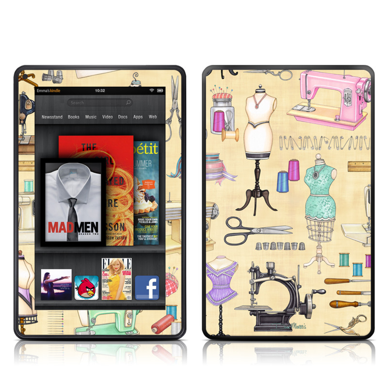 Haberdashery Amazon Kindle Fire Skin
