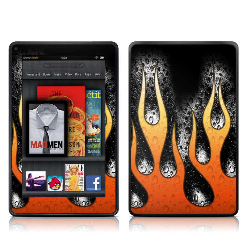 Heat Amazon Kindle Fire Skin