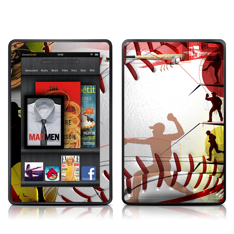 Home Run Amazon Kindle Fire Skin