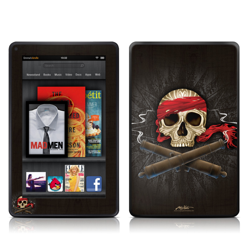 High Seas Drifter Amazon Kindle Fire Skin