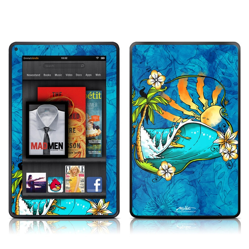Island Playground Amazon Kindle Fire Skin