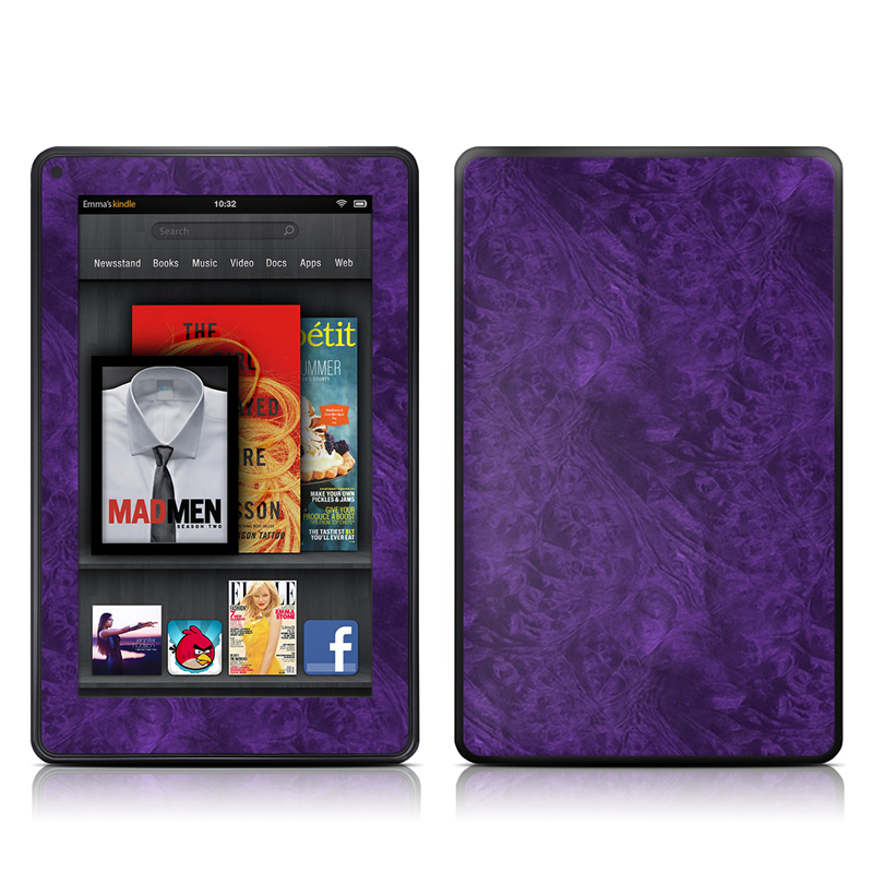 Purple Lacquer Amazon Kindle Fire Skin