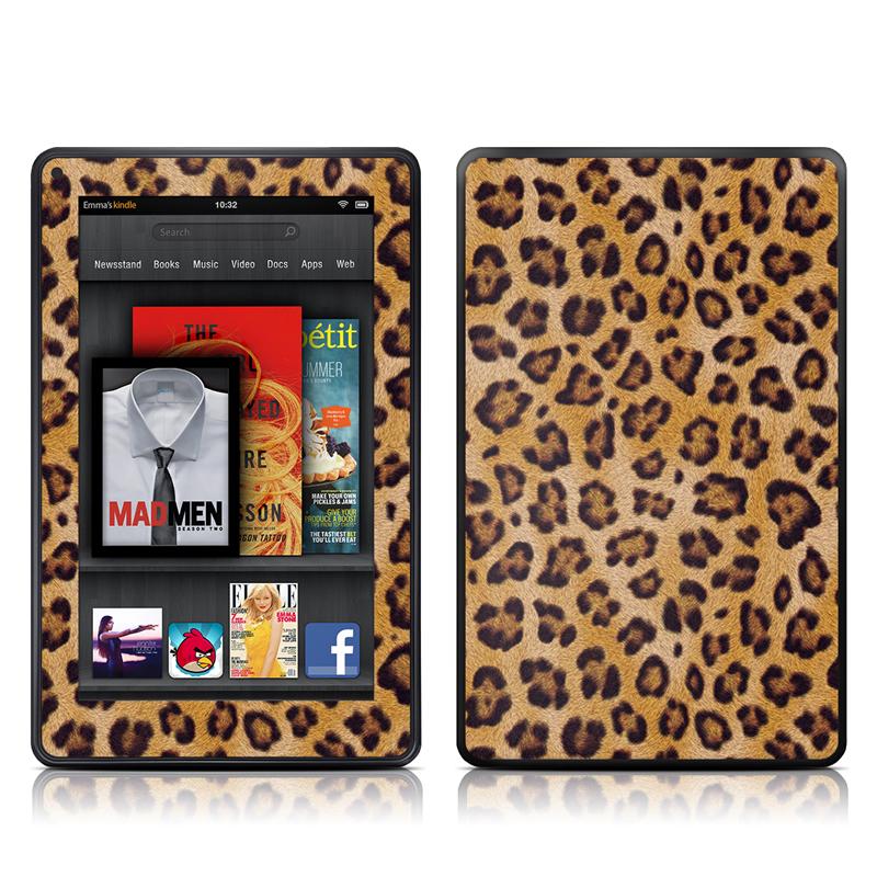 Leopard Spots Amazon Kindle Fire Skin
