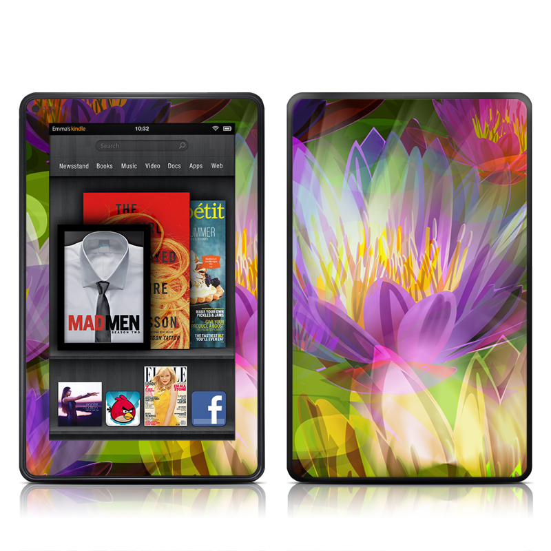 Lily Amazon Kindle Fire Skin