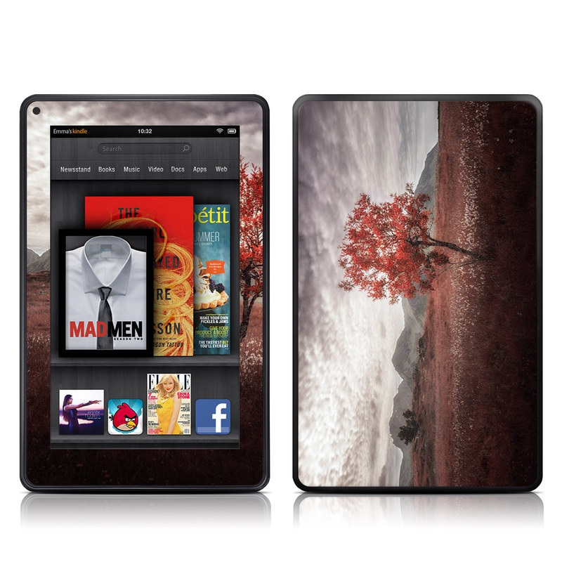 Lofoten Tree Amazon Kindle Fire Skin