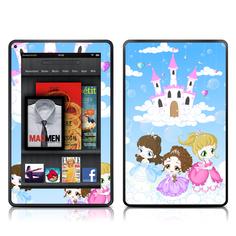 Little Princesses Amazon Kindle Fire Skin