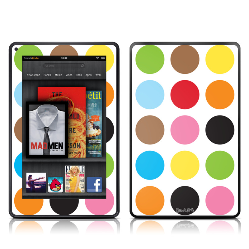 Multidot Amazon Kindle Fire Skin