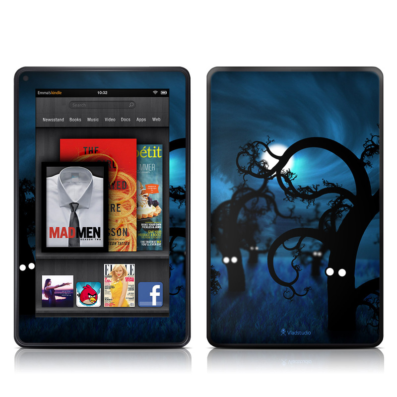 Midnight Forest Amazon Kindle Fire Skin