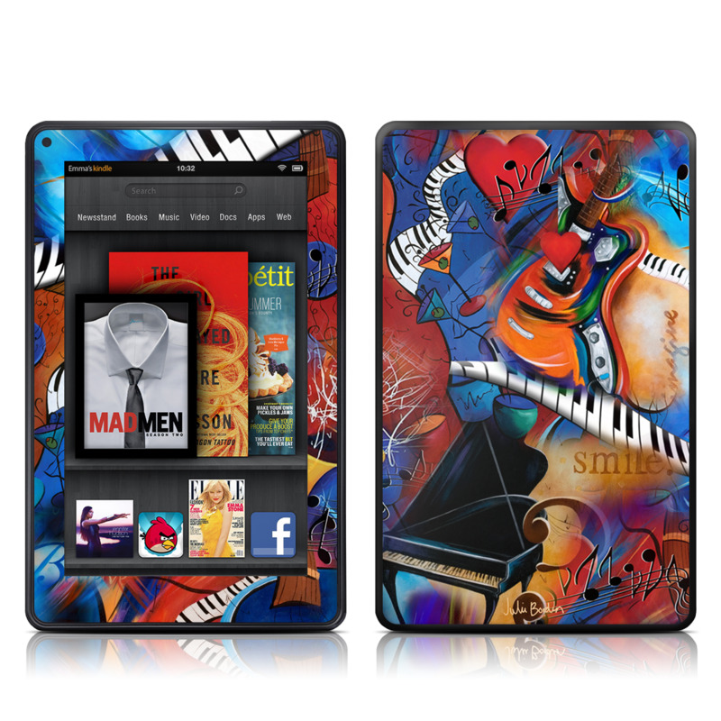 Music Madness Amazon Kindle Fire Skin