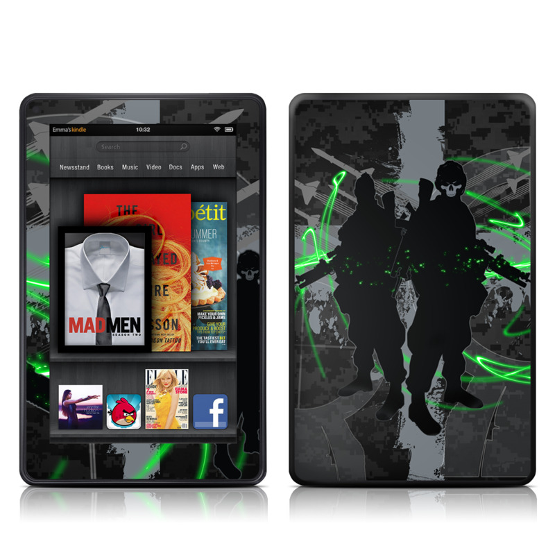 Modern War Amazon Kindle Fire Skin