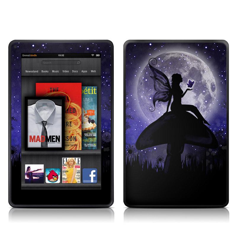 Moonlit Fairy Amazon Kindle Fire Skin