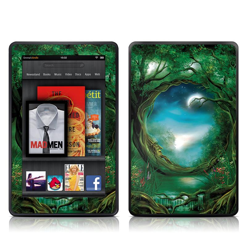 Moon Tree Amazon Kindle Fire Skin
