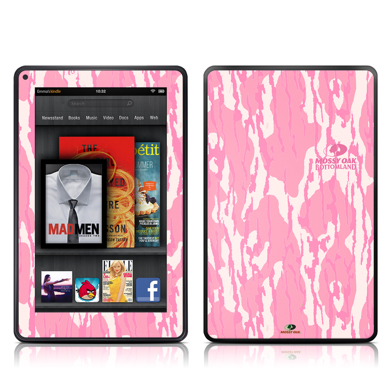 New Bottomland Pink Amazon Kindle Fire Skin