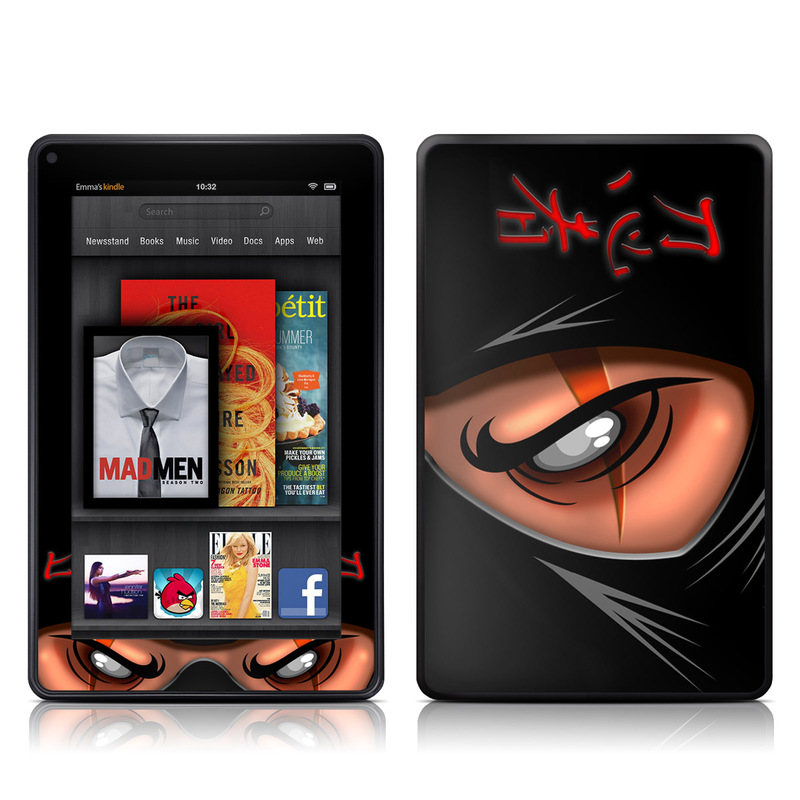 Ninja Amazon Kindle Fire Skin