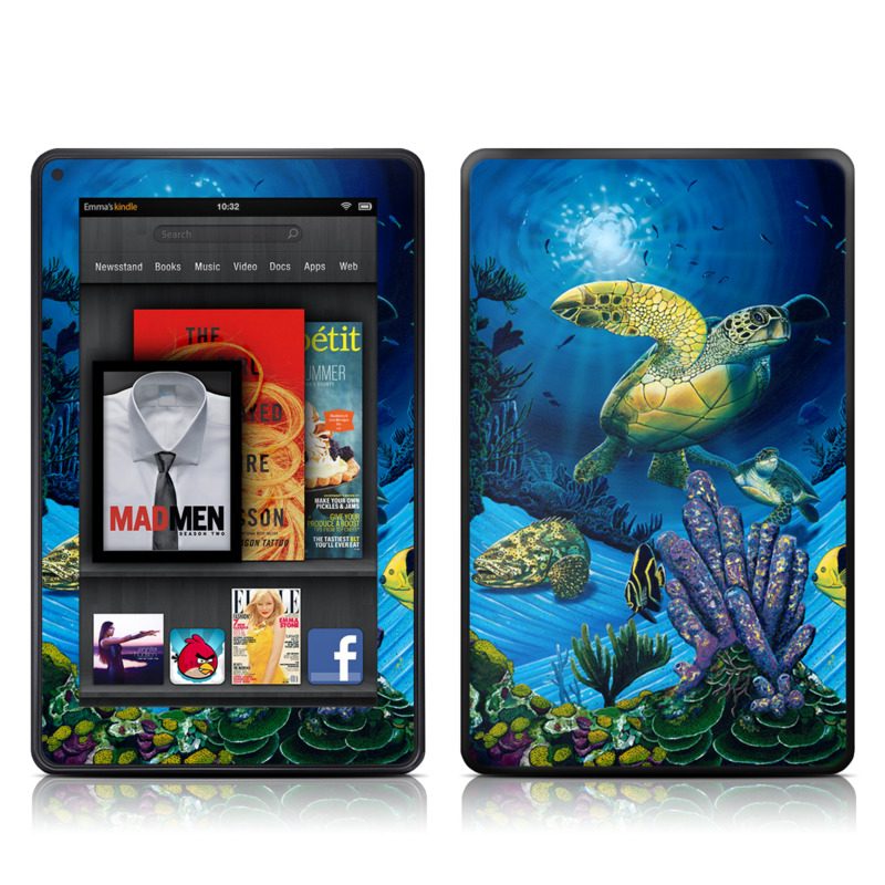Ocean Fest Amazon Kindle Fire Skin