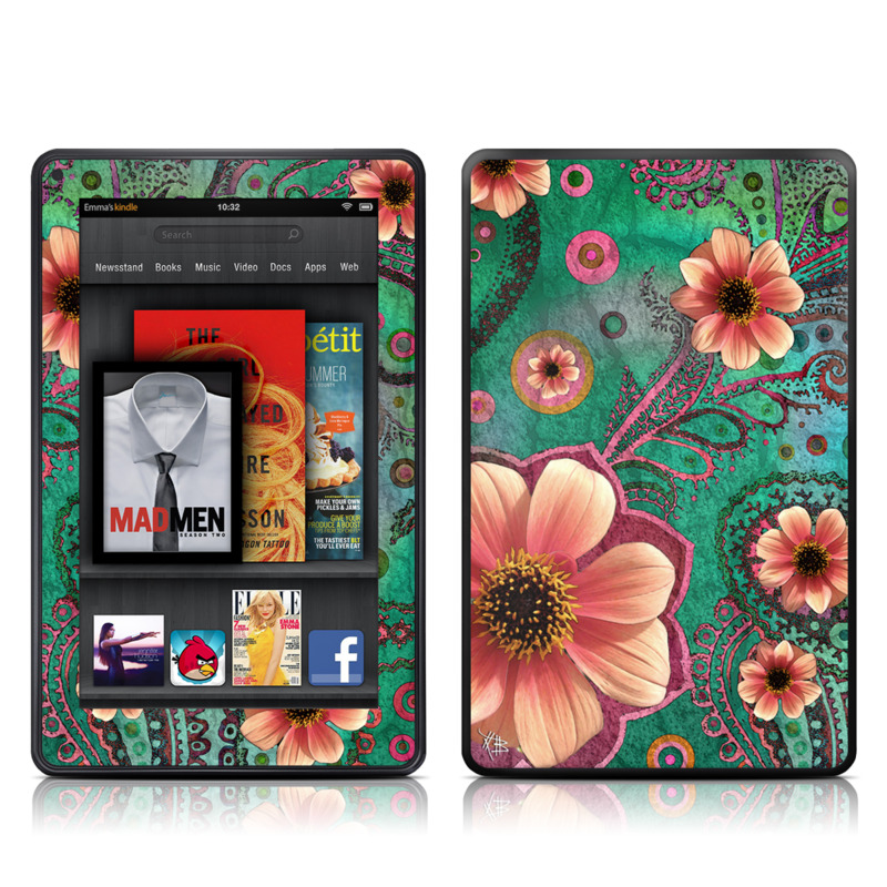 Paisley Paradise Amazon Kindle Fire Skin