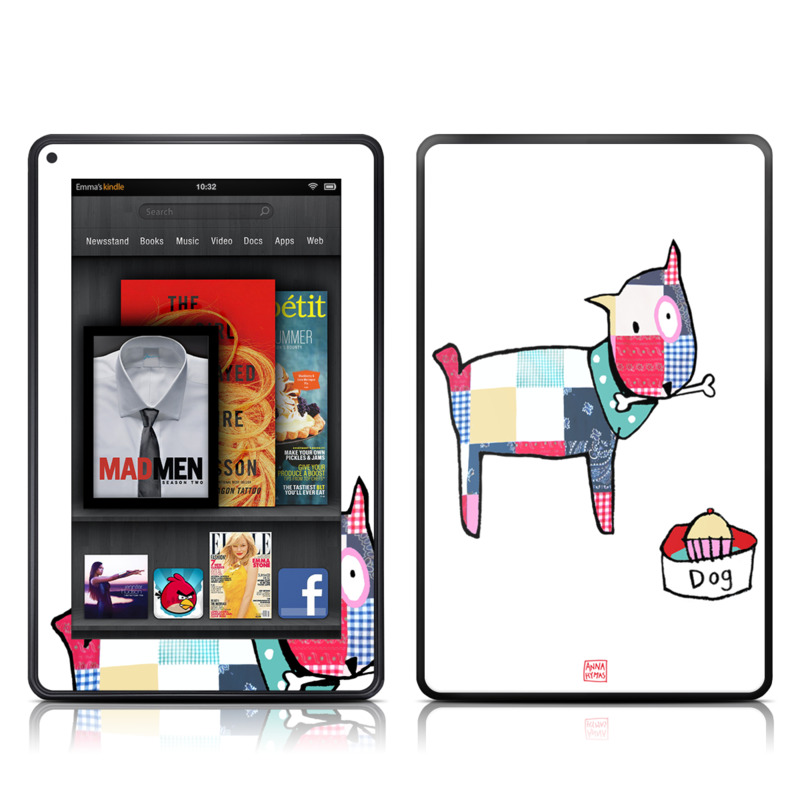 Patch Dog Amazon Kindle Fire Skin