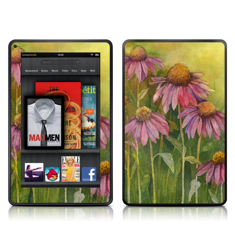 Prairie Coneflower Amazon Kindle Fire Skin