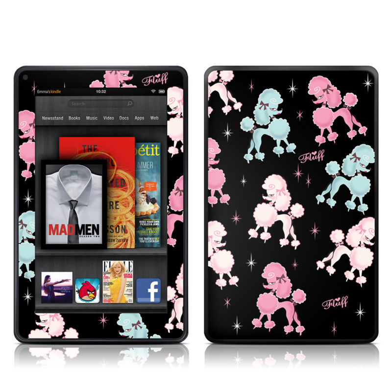 Poodlerama Amazon Kindle Fire Skin