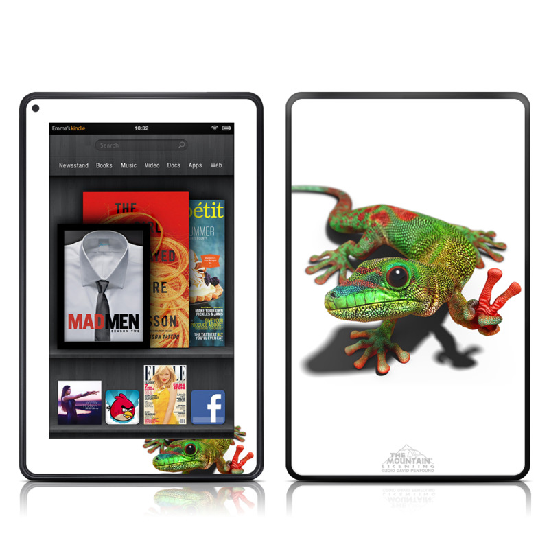 Peace Gecko Amazon Kindle Fire Skin
