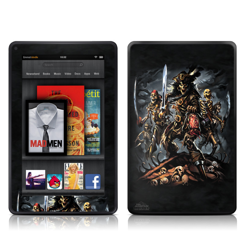 Pirates Curse Amazon Kindle Fire Skin
