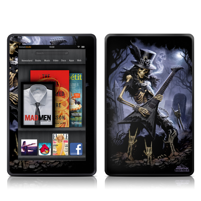 Play Dead Amazon Kindle Fire Skin