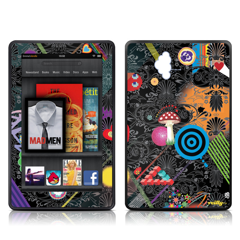 Play Time Amazon Kindle Fire Skin
