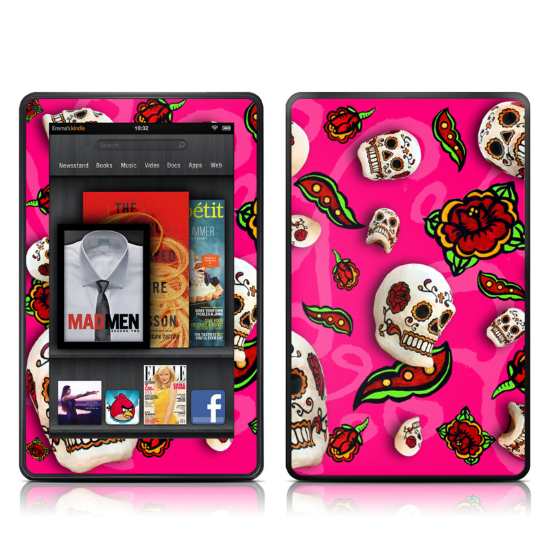 Pink Scatter Amazon Kindle Fire Skin