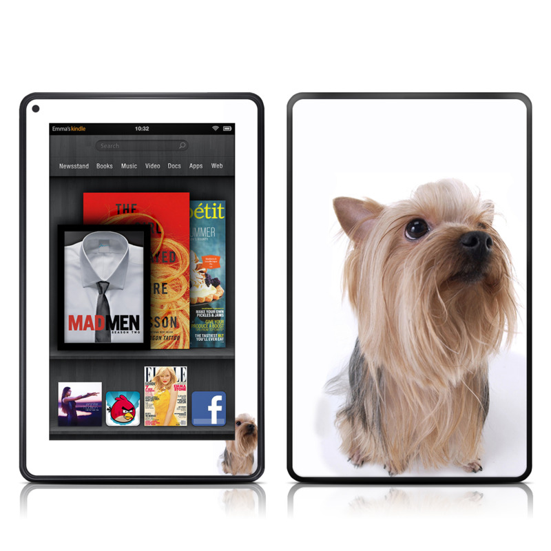 Puppy Love 2 Amazon Kindle Fire Skin