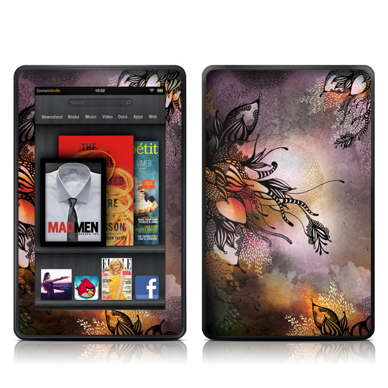 Purple Rain Amazon Kindle Fire Skin