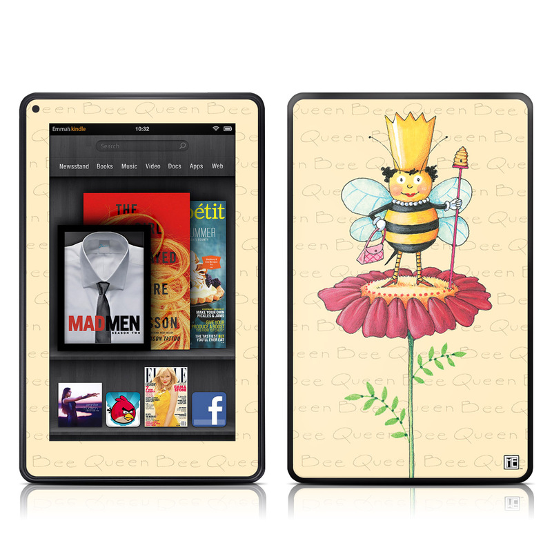 Queen Bee Amazon Kindle Fire Skin
