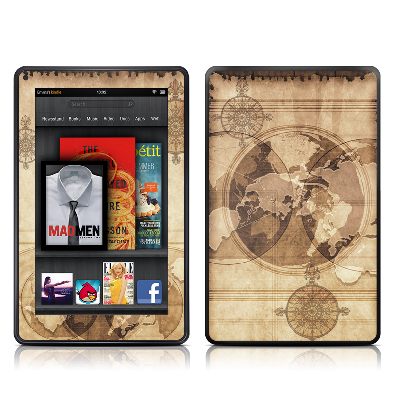 Quest Amazon Kindle Fire Skin