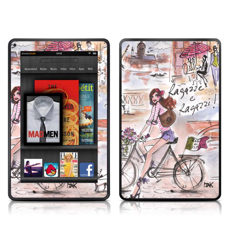 Ragazze e Ragazzi Amazon Kindle Fire Skin
