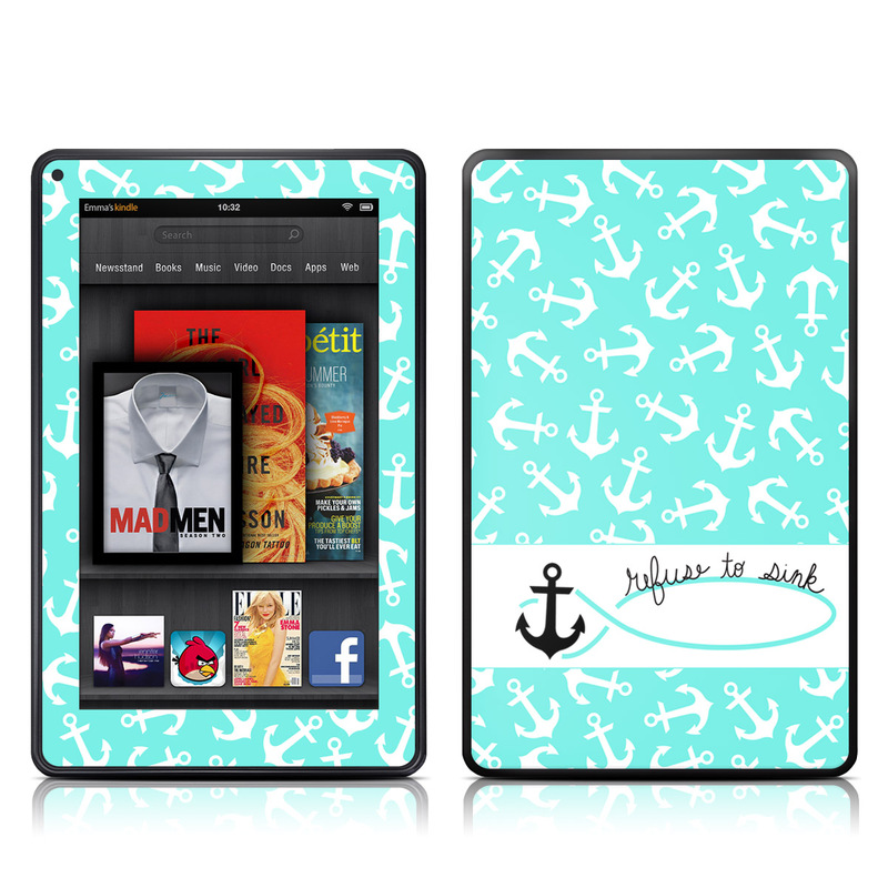 Refuse to Sink Amazon Kindle Fire Skin