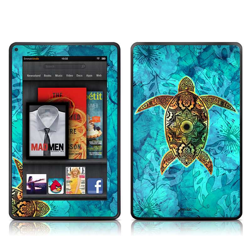 Sacred Honu Amazon Kindle Fire Skin