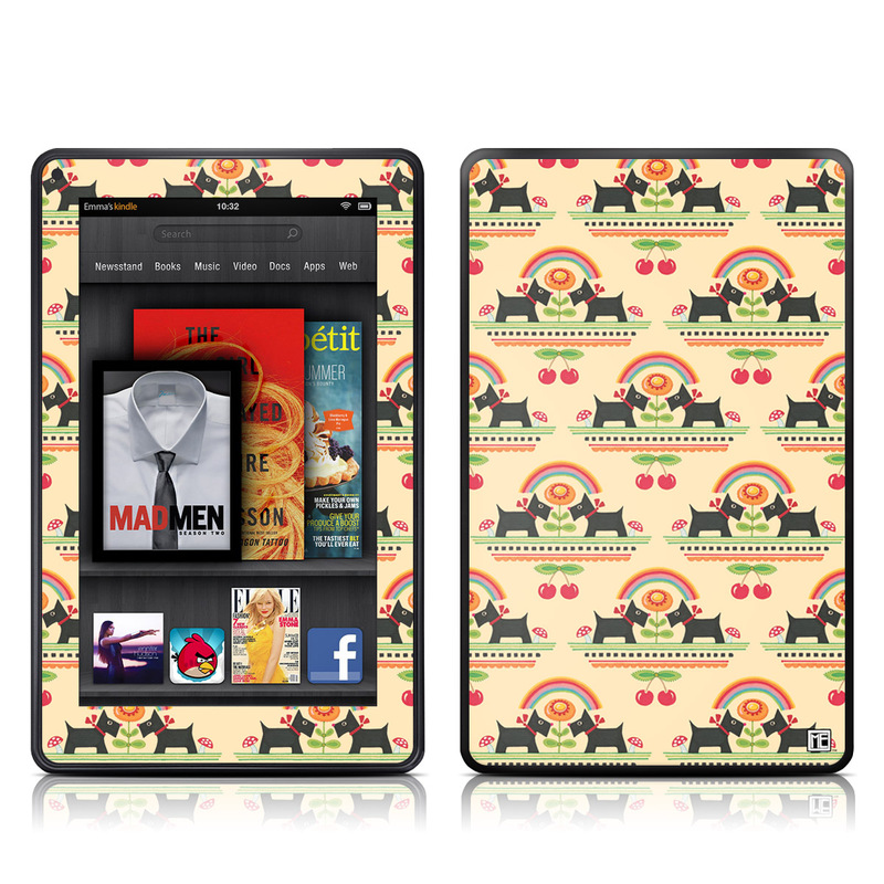 Scotties Amazon Kindle Fire Skin
