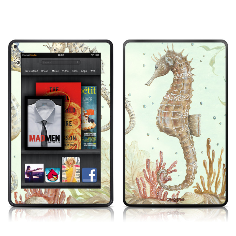 Seahorse Trio Amazon Kindle Fire Skin