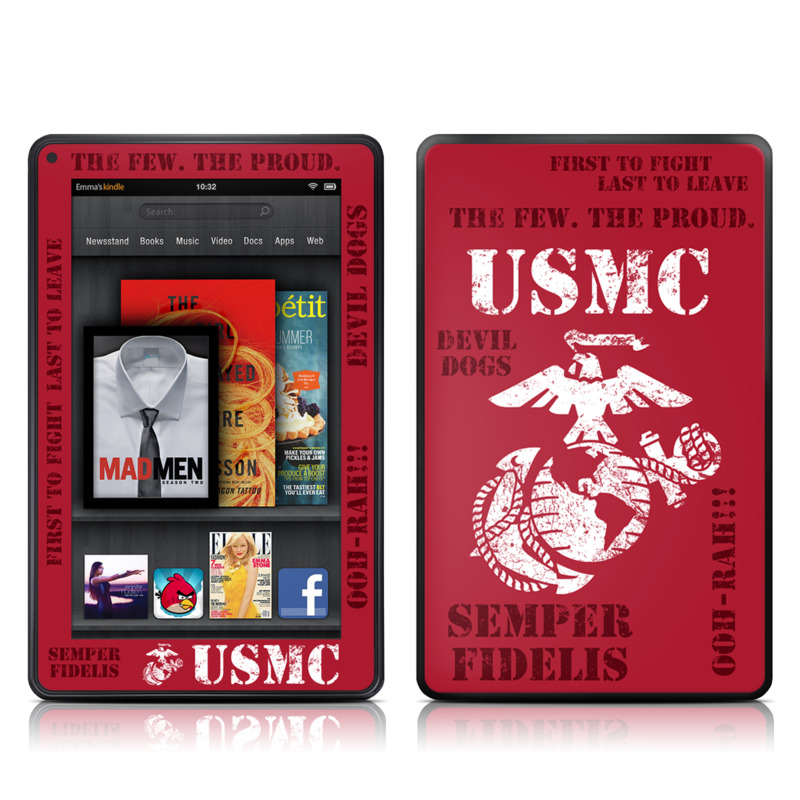 Semper Fi Amazon Kindle Fire Skin