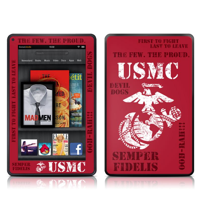 Semper Fi Amazon Kindle Fire Skin